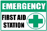 Emergency: First Aid Station