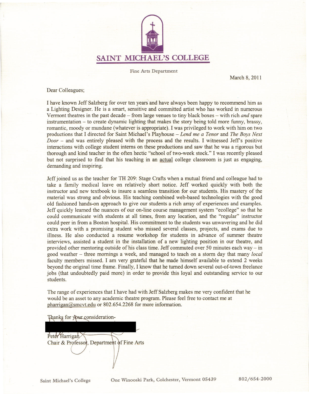 Recommendation Letter College Admission Image Collections  Letter